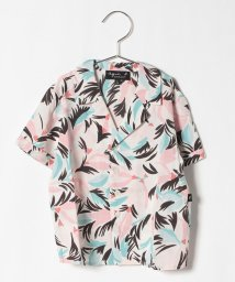 agnes b. ENFANT/IBY0 E CHEMISE キッズ フラワープリントシャツ/503118381