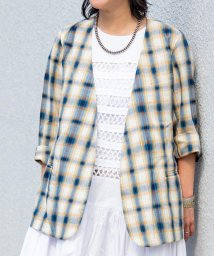 SHIPS WOMEN/PENDLETON:【SHIPS別注】カシュクールジャケット/503123493