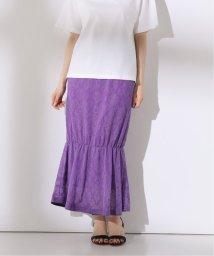 Spick & Span/【+81BRANCA】Lace Jacquard Skirt/503123645