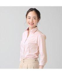 BRICKHOUSE/Disney ディズニー シャツ 七分袖 形態安定 スキッパー衿 レディース/503124208