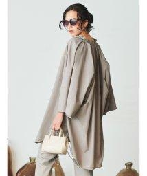 Mila Owen/ポンチョ風スタンドカラーシャツ/503125280
