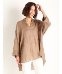 Mila Owen/ソフトリネンスキッパーシャツ/503125286