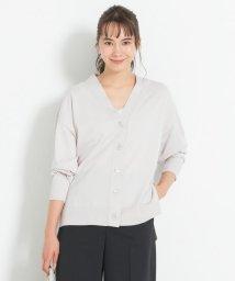 JIYU-KU /【マガジン掲載】ハイゲージコットン カラーカーディガン(検索番号G28)/503125421