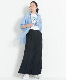 JIYU-KU /【マガジン掲載】BLUE ライトオンス デニムワイドパンツ(検索番号G32)/503125426