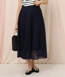 Couture Brooch/フラワーレースフレアスカート/502909202