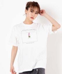 WEGO/バブルティ-プリントTシャツ/503026586