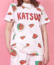 PUNYUS/カツオのたたき総柄Tシャツ/503094110