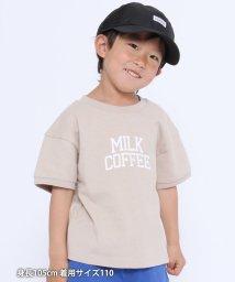 coen/【coen キッズ/ジュニア】Good dayカレッジロゴTシャツ/503108505