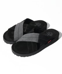 VIRGOwearworks/SUPREME CROSS LEATHER SANDALS/503116263