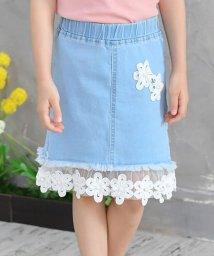 子供服Bee/レース付きデニムスカート/503124396