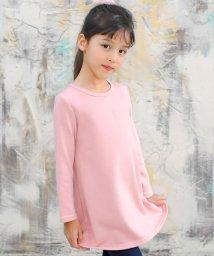 子供服Bee/シンプル Aライン長袖ワンピース/503124488