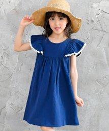 子供服Bee/肩フリルワンピース/503124598