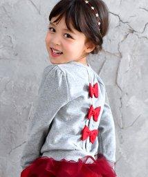 子供服Bee/3タイプのリボン付き長袖カーディガン/503124646