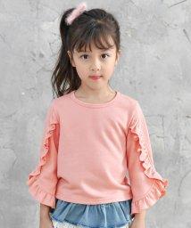 子供服Bee/フリル&フレア袖トップス/503124706