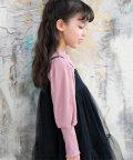 子供服Bee/バルーン袖リブ地トップス/503124750