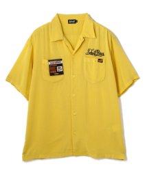 Schott/RAYON PIGMENT WORK SHIRT/レーヨンピグメント ワークシャツ/503125476
