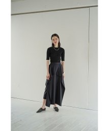 CLANE/SQUARE FRILL SKIRT/503128195