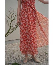 Lily Brown/刺繍花柄ロングスカート/503128309