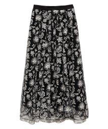 Lily Brown/オリエンタル刺繍スカート/503128311