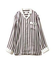 GELATO PIQUE HOMME/【Joel Robuchon & gelato pique】HOMME ストライプサテンシャツ/503128327