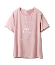 gelato pique/レーヨンロゴTシャツ/503128435