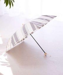 collex/【今年も登場!】晴雨兼用 日傘 ミックススストライプ折り畳み傘/503128520
