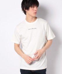 WEGO/シンプル刺繍Tシャツ/502930603