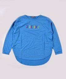 ZIDDY/レインボー ロゴ プリント ラウンドカット Tシャツ(130cm~160cm)/502959889