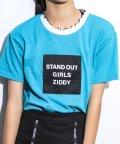 ZIDDY/衿メロウ天竺Tシャツ/503049586