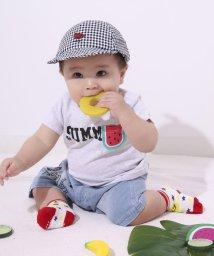 e-baby/チェックフルーツキャップ/503049632