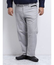 GRAND-BACK/【大きいサイズ】レノマオム/renoma HOMME ストレッチグレンチェック 5ポケットパンツ/503050982