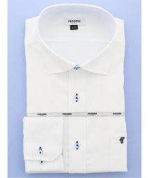 GRAND-BACK/【大きいサイズ】レノマオム/renoma HOMME  形態安定吸水速乾ワイドカラー長袖ビジネスドレスシャツ/ワイシャツ/503051265