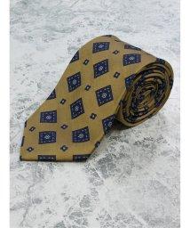 GRAND-BACK/【大きいサイズ】アレキサンダージュリアン/ALEXANDER JULIAN 日本製シルク小紋 レギュラーネクタイ8.5cm幅/503051389