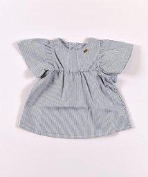 SLAP SLIP/デニム袖フレアシャツ/503058106