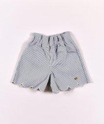 SLAP SLIP/デニム裾スカラップショートパンツ/503058119