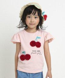 SLAP SLIP/天竺フルーツチュールTシャツ/503058127