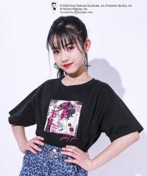 ZIDDY/ベティコラボ フォト プリント ルーズ Tシャツ(130cm~160cm)/503068672