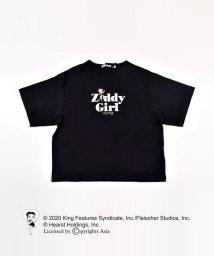 ZIDDY/ベティコラボ ロゴ ワイド Tシャツ(130cm~160cm)/503068673