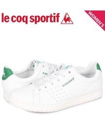 lecoqsportif/ルコック スポルティフ le coq sportif LA アルマ スニーカー レディース LA ALMA ホワイト 白 QL3PJC16WG/503110097