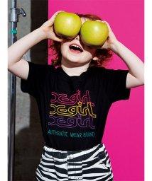 X-girl Stages/レインボーミルズロゴTシャツ/503115551