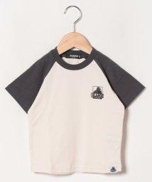 XLARGE KIDS/OGゴリララグランスリーブTシャツ/503115555