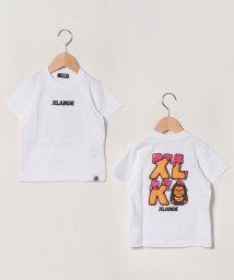 XLARGE KIDS/ファニーゴリラクッキープリントTシャツ/503115556