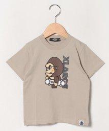 XLARGE KIDS/スケートファニーゴリラTシャツ/503115557