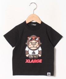 XLARGE KIDS/サングラスファニーゴリラプリントTシャツ/503115558
