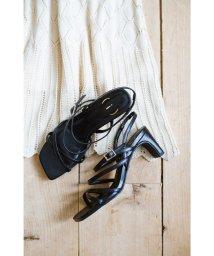 haco!/玄関でこれを履くだけでコーデが女っぽく&今っぽくまとまる 華奢な紐のヒールサンダル/503115663