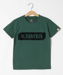 KRIFF MAYER(Kids)/ブラシ刺繍ロゴ半袖T(BOX)(130~160cm)/503117507