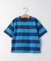 green label relaxing (Kids)/【キッズ】ワイドボーダーTシャツ/503118222