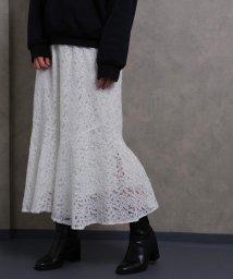Fizz/【2020新作】総レース ペプラムスカート fi SS 202054/503129410