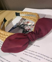 miniministore/大人 リボン カチューシャ 幅広 ヘアアクセサリー かわいい 三つ編み カチューシャ 痛くない/503129964