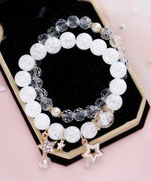 miniministore/ ブレスレット レディース ビーズ アクセサリー 女性用 数珠 ブレスレット ゴム 母の日 プレゼント 記念日ギフト/503129968